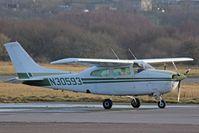 N30593 @ EGFH - Visiting Cessna 210L seen at EGFH. - by Derek Flewin