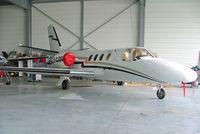 F-GJDG @ LFOQ - Cessna Citation I [500-0312] Blois-Le-Breuil~F 07/07/2006