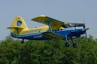 D-FKME @ LFFQ - Antonov AN-2T, Donau Air Service , La Ferté-Alais Airfield (LFFQ) Air Show 2012 - by Yves-Q