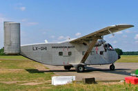 LX-GHI @ LFHX - Shorts Skyvan SC7-3M-400 [SH1890] Lapalisse~F 07/07/2006 - by Ray Barber