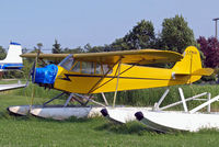 C-FNUA @ CKL2 - Piper J/3C-65 Cub [15387] Selkirk~C 25/07/2008 - by Ray Barber