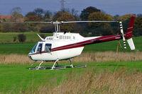 G-PERZ @ EGTR - Bell 206B-3 Jet Ranger III [4411] Elstree~G 10/11/2004
