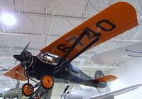 N6740 - Monocoupe 70 at the Hiller Aviation Museum, San Carlos CA