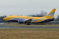 EI-STA @ LOWL - European Airpost Boeing B737-31S landing in LOWL/LNZ