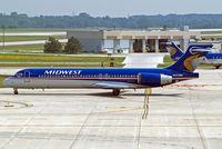 N923ME @ KMKE - Boeing 717-2BL [55185] (Midwest Airlines) Milwaukee~N 27/07/2008