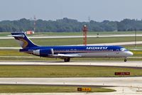 N904ME @ KMKE - Boeing 717-2BL [55168] (Midwest Airlines) Milwaukee~N 27/07/2008