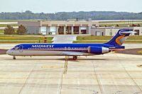 N924ME @ KMKE - Boeing 717-2BL [55190] (Midwest Airlines) Milwaukee~N 27/07/2008