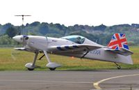 D-EYXA @ EGHH - Off to the seafront show - by John Coates