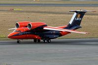 UR-CKC @ LOWL - Cavok Air Antonov An-74TK-100 taxi to RWY26 in LOWL/LNZ