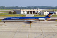 N601ME @ KMKE - McDonnell Douglas DC-9-88  [49762] (Midwest Airlines) Milwaukee~N 27/07/2008