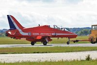 XX242 @ EGHH - Being towed to parking area - by John Coates