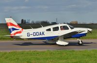 G-ODAK @ EGSH - Departing from Norwich. - by Graham Reeve