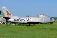 23301 @ CNU8 - Canadair CL-13A Sabre Mk.5 [1091] Markham~C 22/06/2005 - by Ray Barber