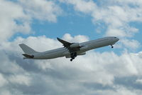 CS-TQZ @ EGCC - Hi Fly Airbus A340-313X CS-TQZ taking off from Manchester Airport. - by David Burrell