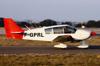 F-GPRL @ LFMP - Runway pattern on rwy 13 - by Grizzly