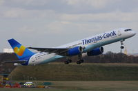 G-FCLK @ EGBB - Thomas Cook - by Chris Hall