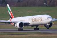 A6-EBZ @ EGBB - Emirates - by Chris Hall