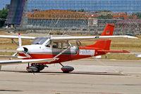D-ECHM @ LECU - R/Cessna FR.172G Rocket [0164] Madrid-Cuatro Vientos~EC 10/07/2011 - by Ray Barber