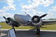 N7381C @ LAL - 1944 BEECH C185 - by dennisheal