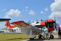 N10NA @ LAL - NORTH AMERICAN T-28C - by dennisheal