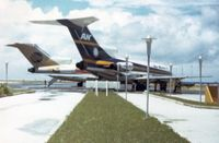 C2-RN4 @ PKMJ - Continental 727 in the background - by VH-ABR