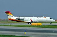 OE-LCQ @ LOWW - Canadair CRJ-200LR [7605] (Tyrolean) Vienna-Schwechat~OE 16/04/2005