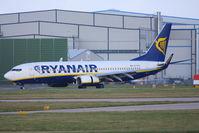 EI-DYS @ EGCC - Ryanair - by Chris Hall