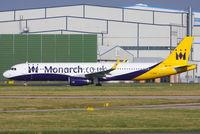 G-ZBAE @ EGCC - Monarch - by Chris Hall