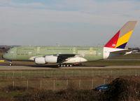 F-WWAQ @ LFBO - C/n 0155 - For Asiana Airlines - by Shunn311