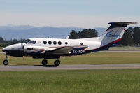 ZK-FDR @ NZCH - taxi to RFDS hangar - by Bill Mallinson