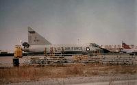 56-2317 @ KHMN - Two seat F-102 Holloman - by Ronald Barker