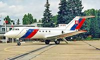 OM-BYE @ LZIB - Yakovlev Yak-40 [9440338] (Government of Slovakia) Bratislava-M R Stefanik~OM 21/06/1996