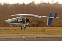 G-MTHV @ EGFH - Visiting Shadow based at Old Park Farm Margam, seen landing on runway 10 at EGFH. - by Derek Flewin