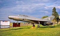 305 @ LHBS - Mikoyan-Gurevich MiG-21F-13 Fishbed [741305] Budaors~HA 15/06/1996 - by Ray Barber