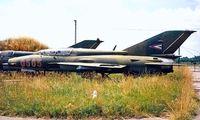 0565 @ LHKE - Mikoyan-Gurevich MiG-21UM Fishbed [05695165] (Hungarian Air Force) Kecskemet~HA 17/06/1996 - by Ray Barber