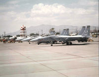 73-0108 @ KLSV - TAC-1 at Luke AFB - by Ronald Barker