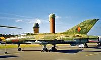 645 @ EDBG - Mikoyan-Gurevich MiG-21F-13 Fishbed [74211924] (East German Air Force) Berlin-Gatow~D 20/05/1998
