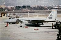 77-0090 @ LEZG - 32 TFS TDY Zaragoza - by Ronald Barker