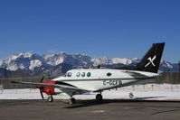C-GCFB @ CEC4 - On the ramp at Jasper-Hinton Airport with the temperature sitting at -21C - by Murray Lundberg