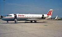 OE-LRE @ LOWW - Canadair CRJ-100LR [7059] (Lauda Air) Vienna-Schwechat~OE 20/06/1996