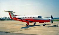OE-EKD @ LOWW - Pilatus PC-12 [142] Vienna-Schwechat~OE 20/06/1996