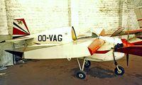 OO-VAG @ EBZW - Tipsy T.66 Nipper 1 [15] Genk-Zwartberg~OO 14/09/1985. Taken from a slide.