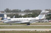C-FZCC @ KSRQ - Gulfstream G-280 (C-FZCC) departs Sarasota-Bradenton International Airport - by Donten Photography