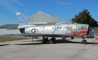 51-2993 - F-86L Sabre at Battleship Alabama Museum - by Florida Metal