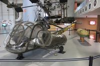 51-3975 - UH-23 Raven at the Army Aviation Museum Ft. Rucker - by Florida Metal