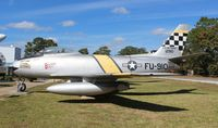 52-5513 @ VPS - F-86F Sabre at USAF Armament Museum - by Florida Metal