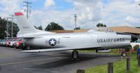 53-1060 - F-86D Sabre owned by Yankee Air Museum at a Ford dealership in Belleville Michigan - by Florida Metal
