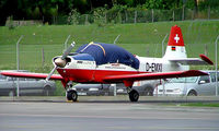 D-EMXI @ LSGG - SIAT S.223A-1 Flamingo [015] Geneva~HB 23/07/2004 - by Ray Barber