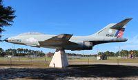 57-0417 - F-101B Voodoo at a ballpark in Calloway Florida
