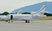 LX-COS @ LSGG - Dassault Falcon 900B [159] Geneva~HB 23/07/2004